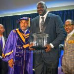 Omega presents Dr. Shaquille O'Neal its 2018 Lifetime Achievement Award