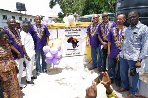 Omega Psi Phi commissions the construction of drinking wells in Ghana