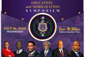 Omega to Host Virtual Town Hall on Voter Rights Suppression and Education and Mobilization